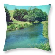 Spring Water Throw Pillow