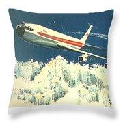 707 In The Air Throw Pillow