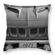 '71 Cuda Throw Pillow