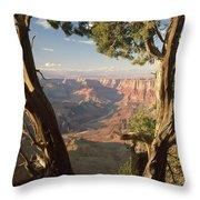 713261 V Desert View Grand Canyon Throw Pillow
