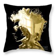 Bob Dylan Collection Throw Pillow