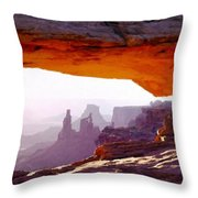Landscape Pics Throw Pillow