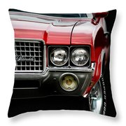 72 Olds Cutlass Throw Pillow