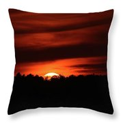 7.27 Am 9-11-2017  Throw Pillow