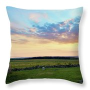 72nd Pennsylvania At The Angle Throw Pillow