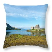77. Eilean Donan Castle, Scotland Throw Pillow