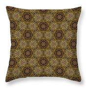 Arabesque 037 Throw Pillow