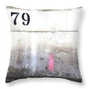 79 Throw Pillow