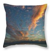 7972- Miami Beach Sunrise Throw Pillow