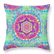 7th Dimension Activation 7 Throw Pillow