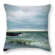 7th Wave  Throw Pillow