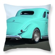 1936 Ford Coupe Throw Pillow