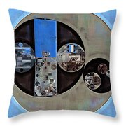 Abstract Painting - Onyx Throw Pillow