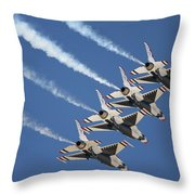 Air Show Throw Pillow
