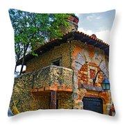 Altos De Chavon Texture. Throw Pillow