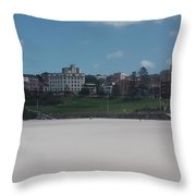 Australia - Bondi Beach Southern End Throw Pillow