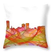 Baton Rouge Louisiana Throw Pillow