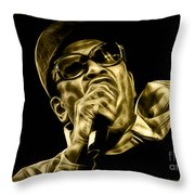 Bobby Womack Collection Throw Pillow