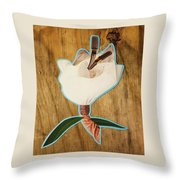 Fashion Fleurward  Throw Pillow