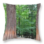 Forestry Throw Pillow