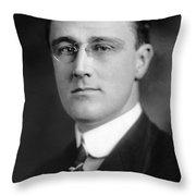 Franklin Delano Roosevelt Throw Pillow