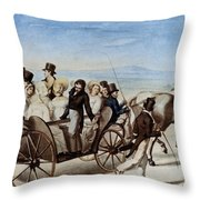 Franz Schubert (1797-1828) Throw Pillow