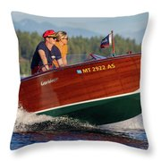 Gar Wood Classic Throw Pillow