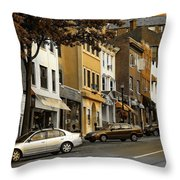 Greenwich Avenue Throw Pillow