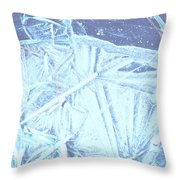 8. Ice Patterns, Whitfield Throw Pillow