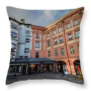 Innsbruck Austria Throw Pillow