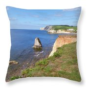 Isle Of Wight - England Throw Pillow