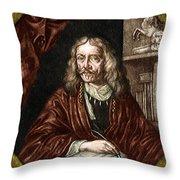 Johannes Hevelius, Polish Astronomer Throw Pillow