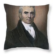 John Marshall (1755-1835) Throw Pillow