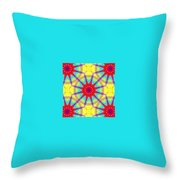 Kaleidoscope 4 Throw Pillow