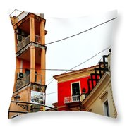 La Maddalena -sardinia Throw Pillow
