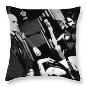 Marilyn Manson Throw Pillow