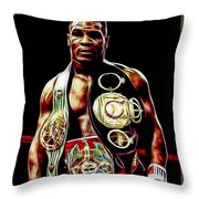 Mike Tyson Collection Throw Pillow