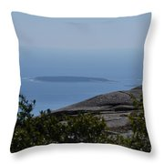 Mountain's View Throw Pillow