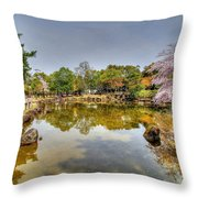 Nara Japan Throw Pillow