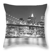 Nyc, New York City, New York State, Usa Throw Pillow