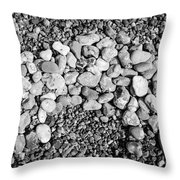 Pebbles 2 Throw Pillow