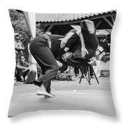Pencak Silat Throw Pillow