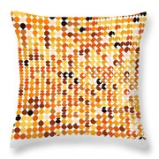 Pi Approximate Packing Of Circles Throw Pillow