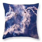 Raf Falcons Throw Pillow