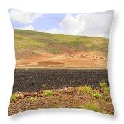 Rural Landscape In Ethiopia Throw Pillow