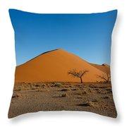 Sossusvlei Dunes Throw Pillow