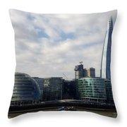 Southwark Skyline Throw Pillow