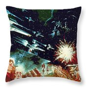 Star Wars Galactic Heroes Art Throw Pillow