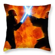 Star Wars Old Poster Throw Pillow