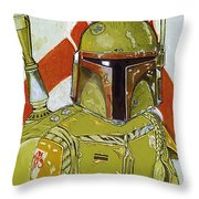 Star Wars The Trilogy Art Throw Pillow
